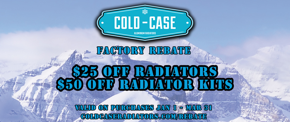 Cold Case Rebate